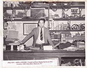 John Peters 1947